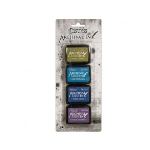 Barvna blazinica, Distress Mini Ink Archival set 2