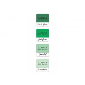 Barvna blazinica, Green Meadows, set