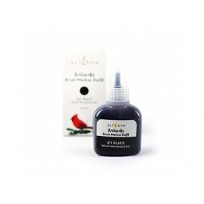 Refil za marker s čopičem, Winter Wonderland, barva Jet Black