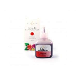 Refil za marker s čopičem, Tropical Fiesta, barva Crimson