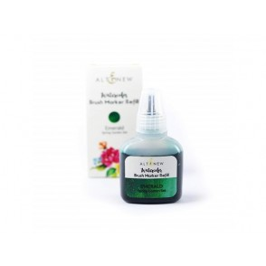 Refil za marker s čopičem, Spring garden, barva Emerald