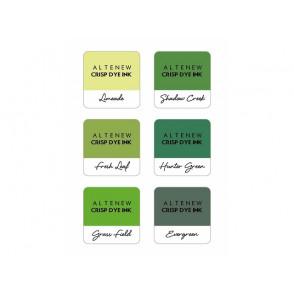 Barvna blazinica, Zesty Limes, set