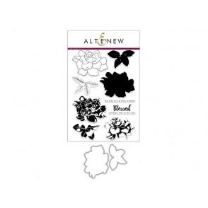 Rezalna šablona in štampiljka: Buil a flower: Gardenia