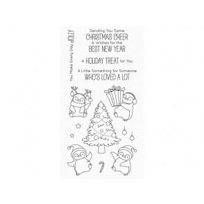 Štampiljka, Holiday Penguins