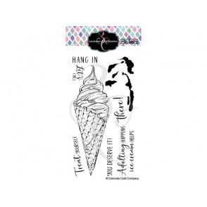 Štampiljka, Big & Bold, Slimline Ice Cream