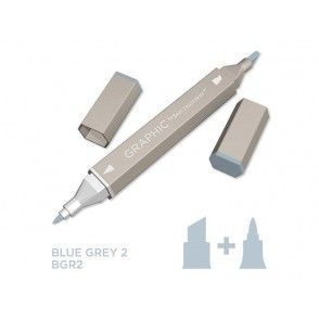 Marker Graphic, Blue grey 2