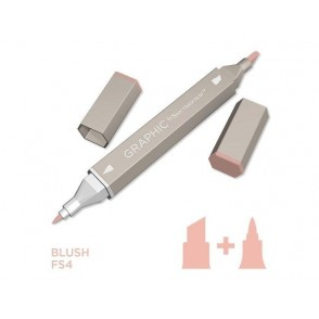 Marker Graphic, Blush