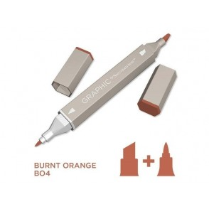 Marker Graphic, Burnt orange