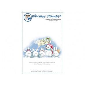 Štampiljka, Christmas Bunny Row