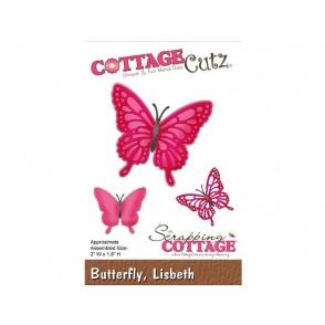 Rezalna šablona, Lisbeth Butterfly