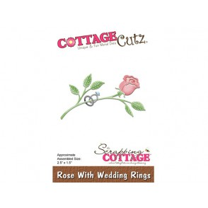 Rezalna šablona, Rose With Wedding Rings