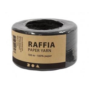 Rafija, črna