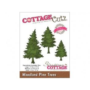 Rezalna šablona, Woodland Pine Trees