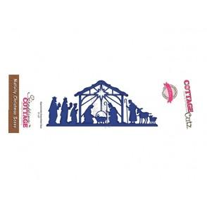 Rezalna šablona, Nativity Christmas Scene