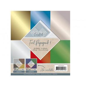 Papir, Foil, set