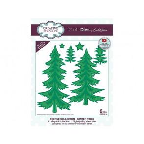 Rezalna šablona, Winter pines