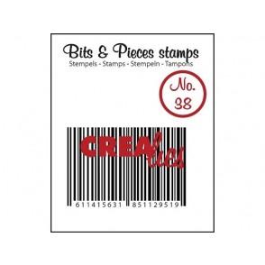 Štampiljka, Bits & Pieces, št. 38, Barcode