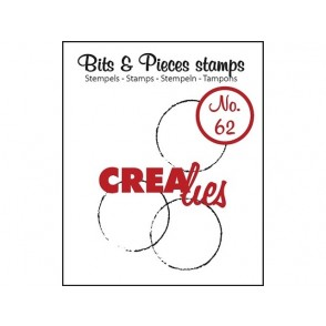 Štampiljka, Bits & Pieces, št. 62, Grunge circles