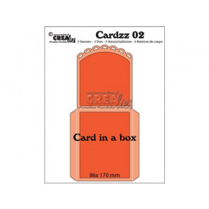 Rezalna šablona, Cardzz No. 2, Card in a box
