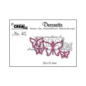 Rezalna šablona, Decorette št. 45