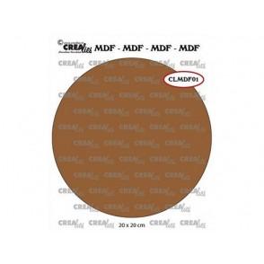 Lesena osnova, MDF, krog