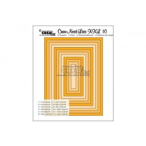 Rezalna šablona, Crea-Nest-Lies XXL, št. 10