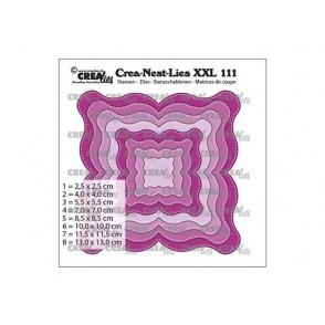 Rezalna šablona, Crea-Nest-Lies XXL, št. 111