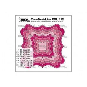 Rezalna šablona, Crea-Nest-Lies XXL, št. 112