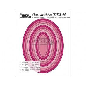 Rezalna šablona, Crea-Nest-Lies XXL, št. 23