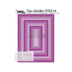 Rezalna šablona, Crea-Nest-Lies XXL, št. 24