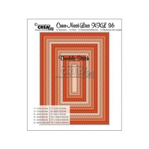 Rezalna šablona, Crea-Nest-Lies XXL, št. 36