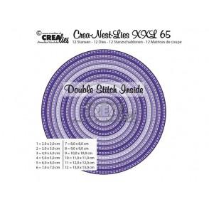 Rezalna šablona, Crea-Nest-Lies XXL, št. 65