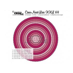 Rezalna šablona, Crea-Nest-Lies XXL, št. 69