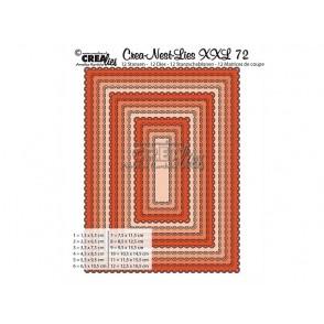 Rezalna šablona, Crea-Nest-Lies XXL, št. 72