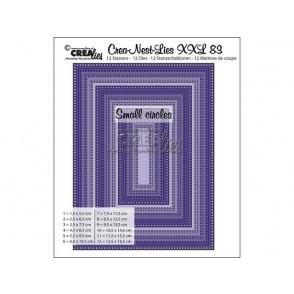 Rezalna šablona, Crea-Nest-Lies XXL, št. 83
