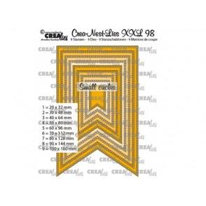 Rezalna šablona, Crea-Nest-Lies XXL, št. 98