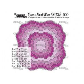 Rezalna šablona, Crea-Nest-Lies XXL, št. 100