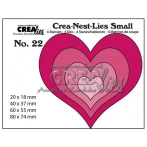 Rezalna šablona, Crea-Nest-Lies Small, št.22