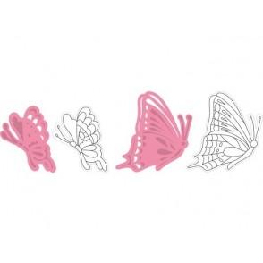 Rezalna šablona in štampiljka, Collectables, Tiny's Butterflies