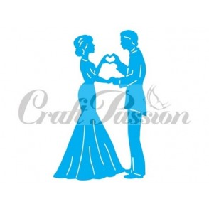 Rezalna šablona, Wedding couple