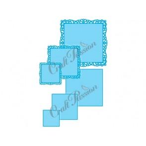 Rezalna šablona, Square Frames #1