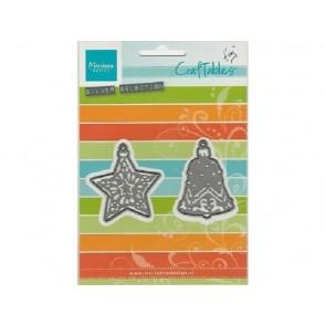 Rezalna šablona, Tiny's ornaments star&bell