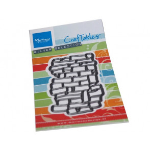 Rezalna šablona, Craftables, embosstencil, Art texture bricks