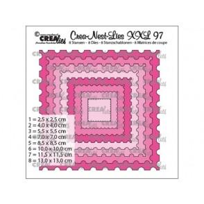Rezalna šablona, Crea-Nest-Lies XXL, št. 97