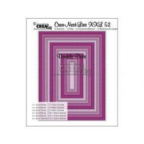Rezalna šablona, Crea-Nest-Lies XXL, št. 52