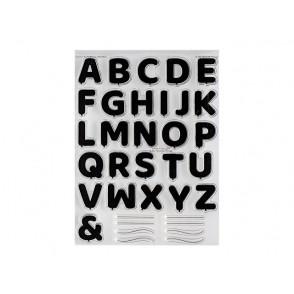 Štampiljka, Pumped-Up Alphabet