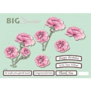 Papir, Decoupage, Big & beautiful floral, 564