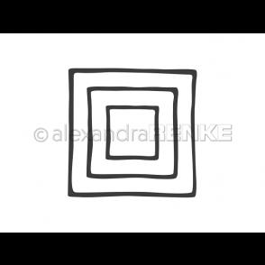 Rezalna šablona, Okvirji, kvadrat