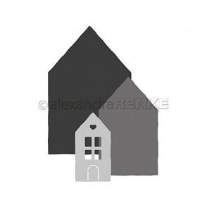 Rezalna šablona, Hiša št. 1