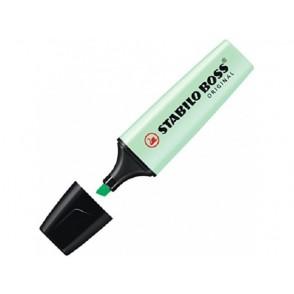 Marker Stabilo Boss, Zelen Pastel